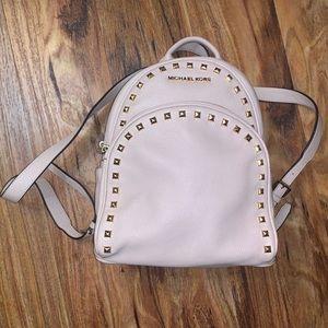 Studded Michael Kors backpack